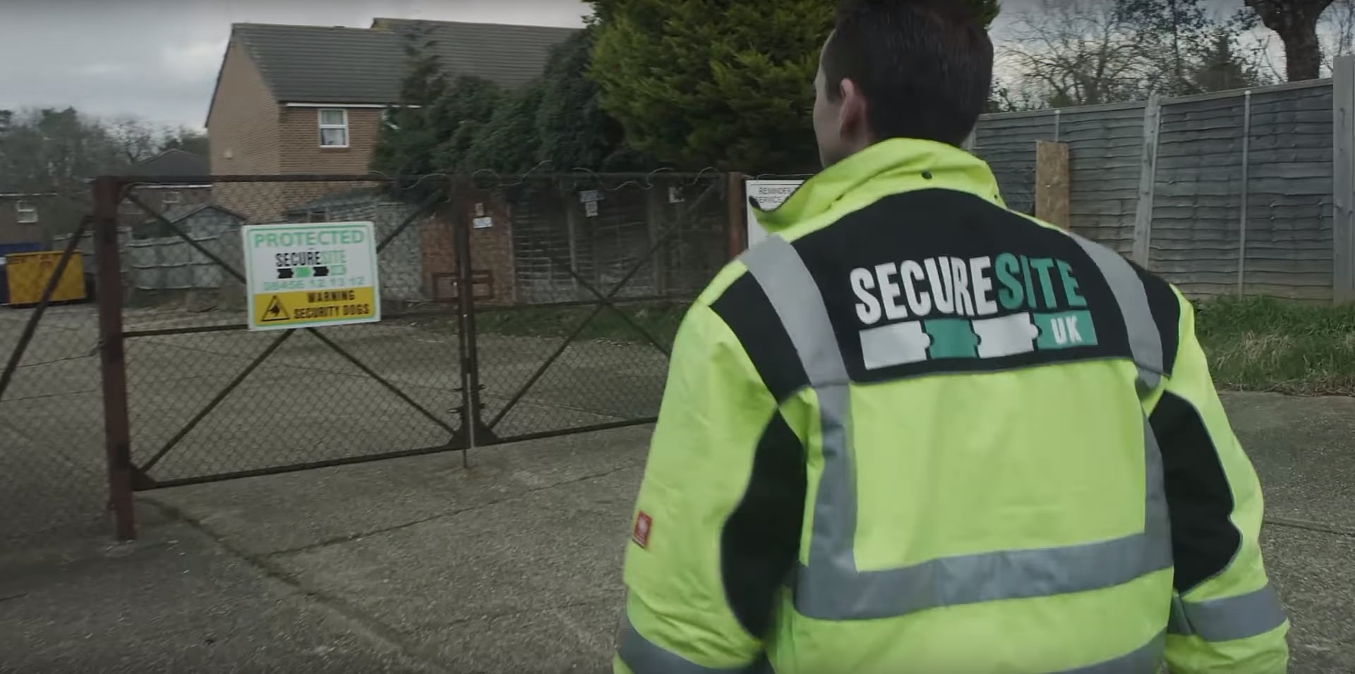 Secure Site UK security guard