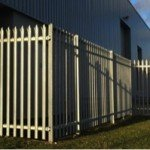 Palisade Fencing to a Commercial Unit in Kent