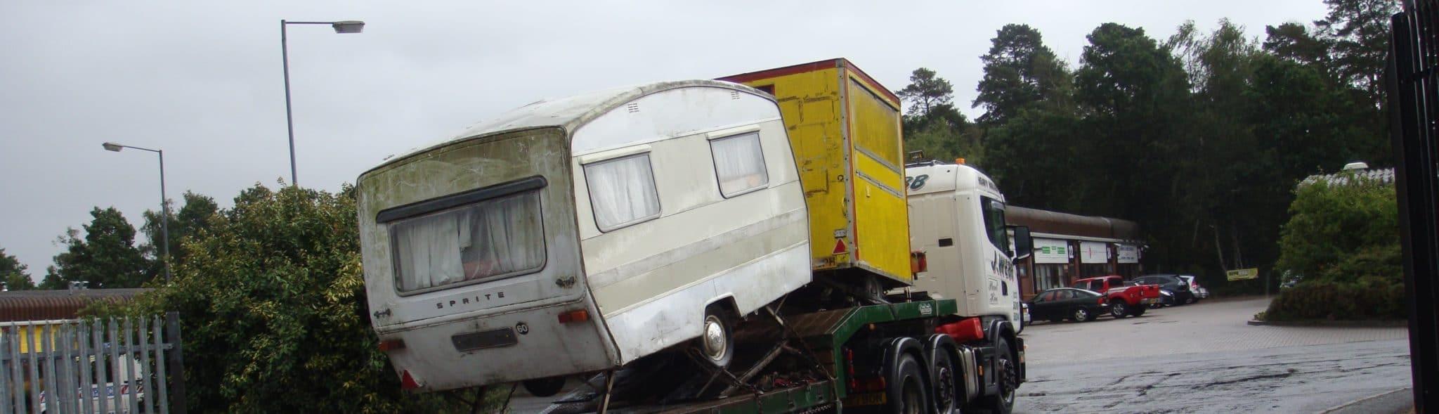 Caravan-Removal