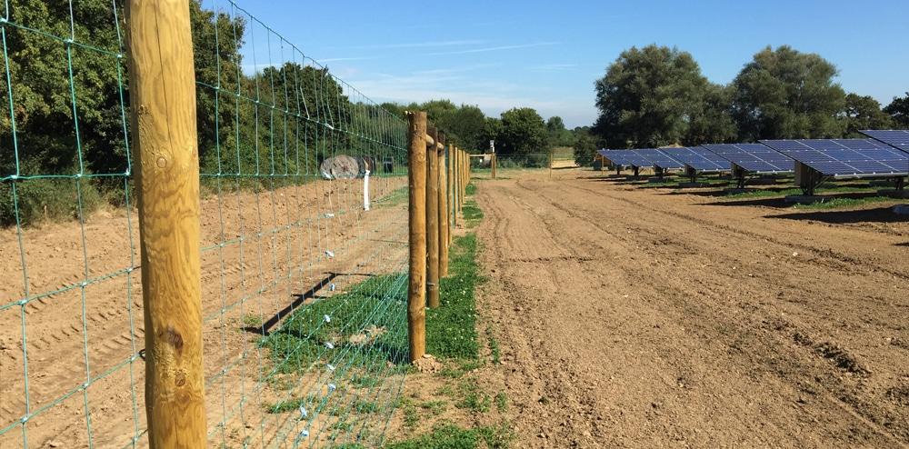 Perimeter Solar Farm Fencing