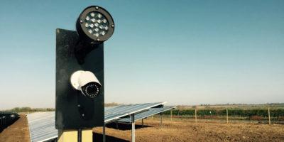Solar Farm CCTV